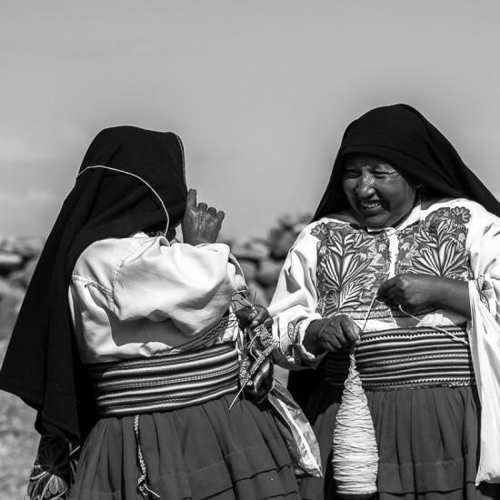 Femmes de l'île d'Amantani 5