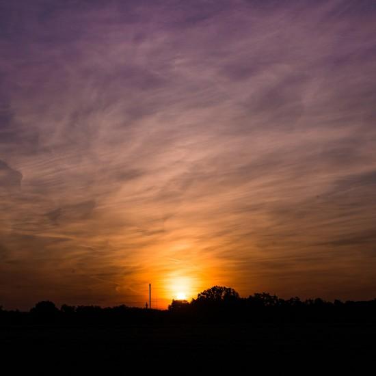 coucher de soleil alsacien 2