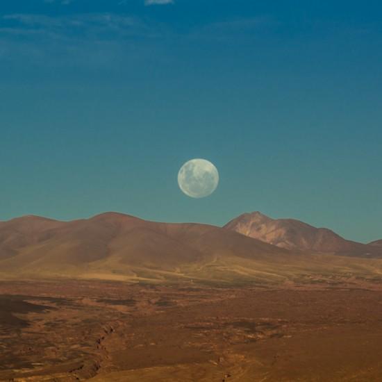 luna sur la vallée de la lune 1